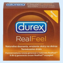 ДЮРЕКС ПРЕЗЕРВАТИВ REAL FEEL №3 [DUREX] 5052197026689