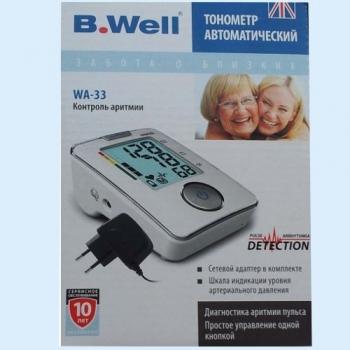 B.well тонометр инструкция по применению